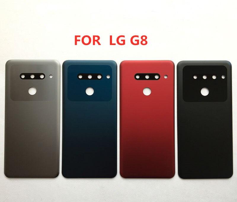 Nuevo Original para LG G8, funda de batería para LG G8 ThinQ, funda trasera para puerta G820 G820N G820QM7, carcasa con 3 cámaras