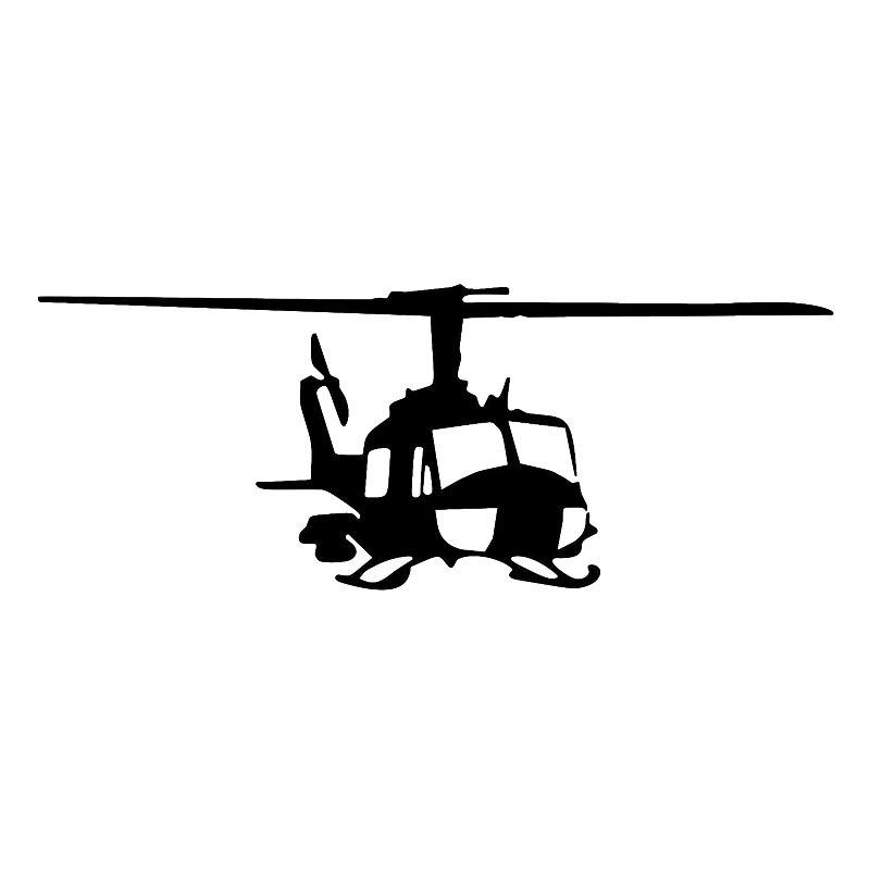 Автомобильные наклейки Особенности дизайн Стиль вертолет наклейки ПВХ тонкой Переводные картинки искусство Графика 18,2 см * 7,2 см