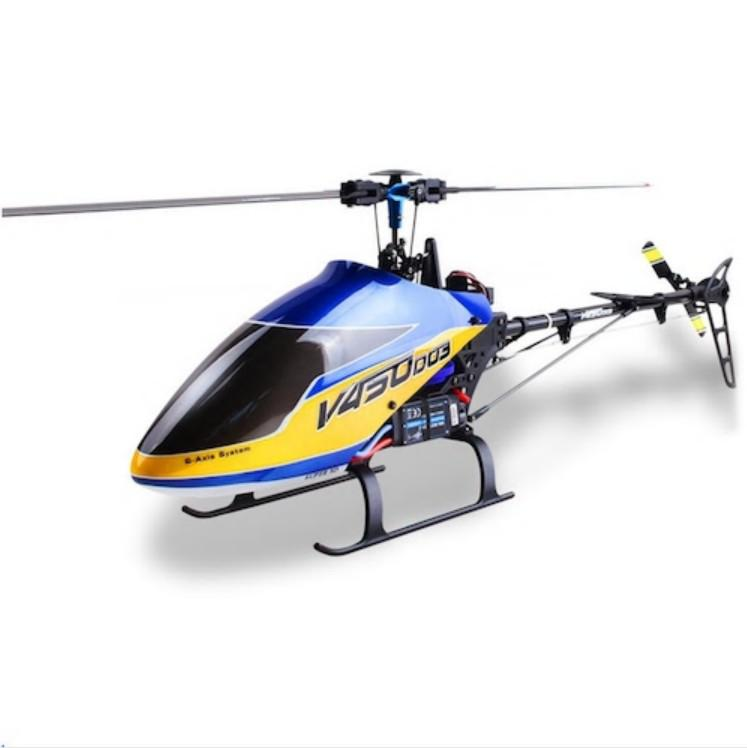 Rctown Walkera V450D03 Generatie Ii 2.4G 6CH 6-Assige Gyro 3D Vliegende Borstelloze Rc Helicopter Bnf