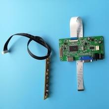 EDP Placa de controlador VGA HDMI LCD Kit diy 30 pines monitor para 60Hz LED LP156WF4 (SP) 1920*1080 Pantalla de 15,6 pulgadas cable