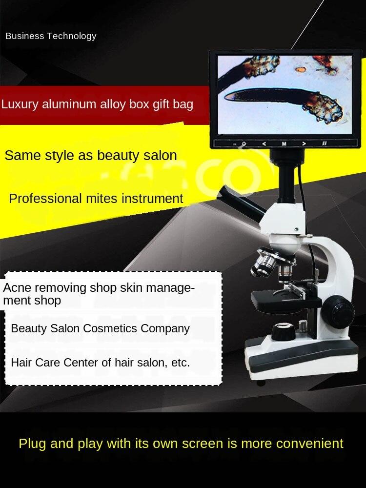 Instrumento dermophites para medir la piel de observación microscopio profesional portátil HD