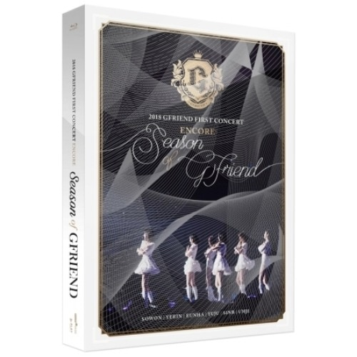 [MYKPOP] ~ 100% ORIGINAL OFICIAL ~ 2018 GFRIEND PRIMEIRO CONCERTO ENCORE TEMPORADA DE Blu-ray-SA19091002 GFRIEND