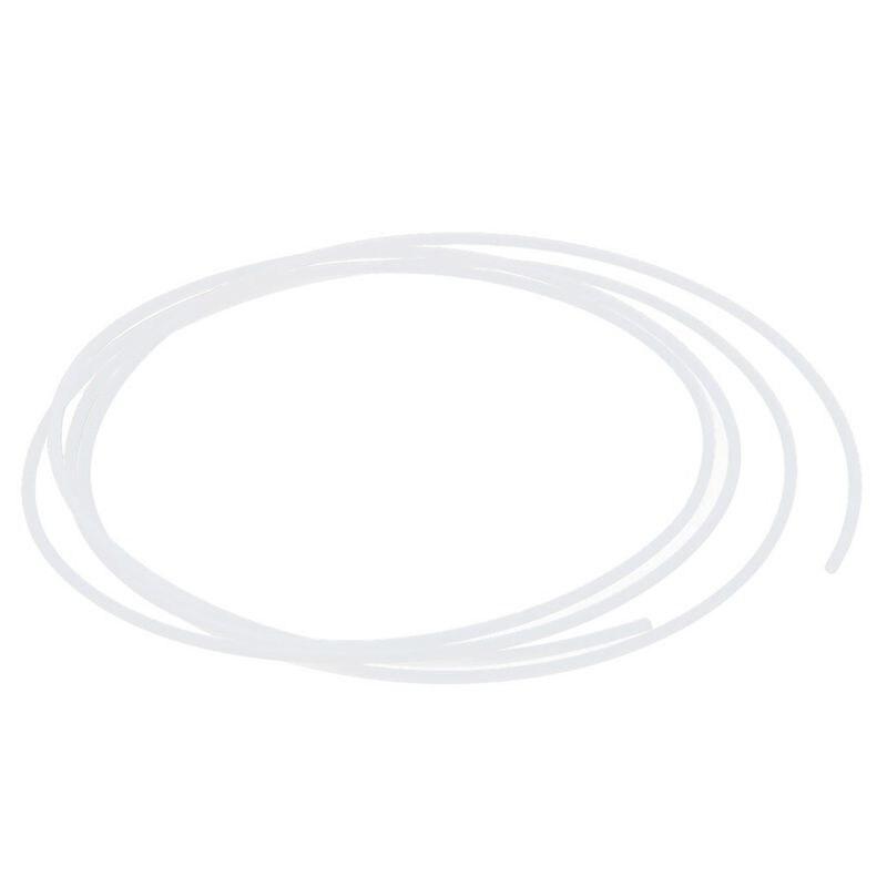 1 metro 1,5mm ID m OD PTFE tubo manguera para impresión 3D RepRap blanco