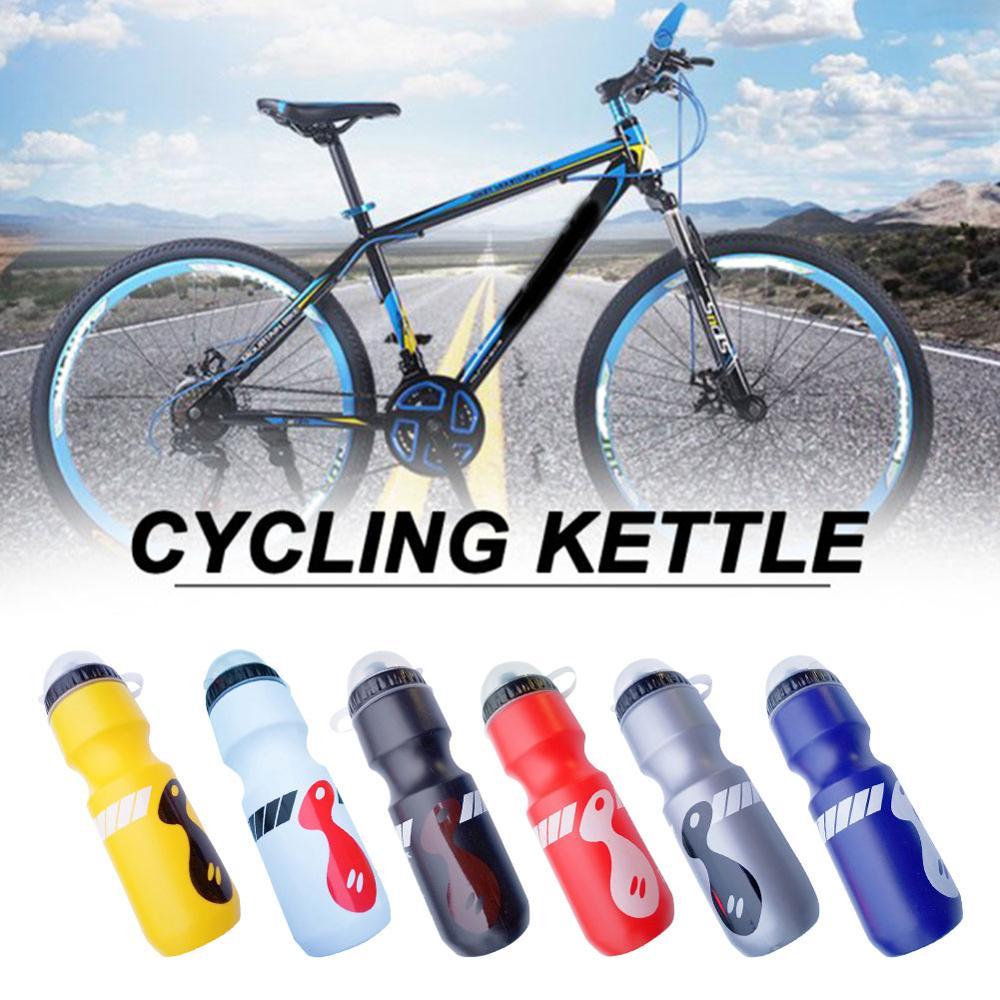 750ml garrafa de água para bicicleta de montanha bicicleta garrafa de água ao ar livre ciclismo esportes squeeze garrafa de água acessório da bicicleta