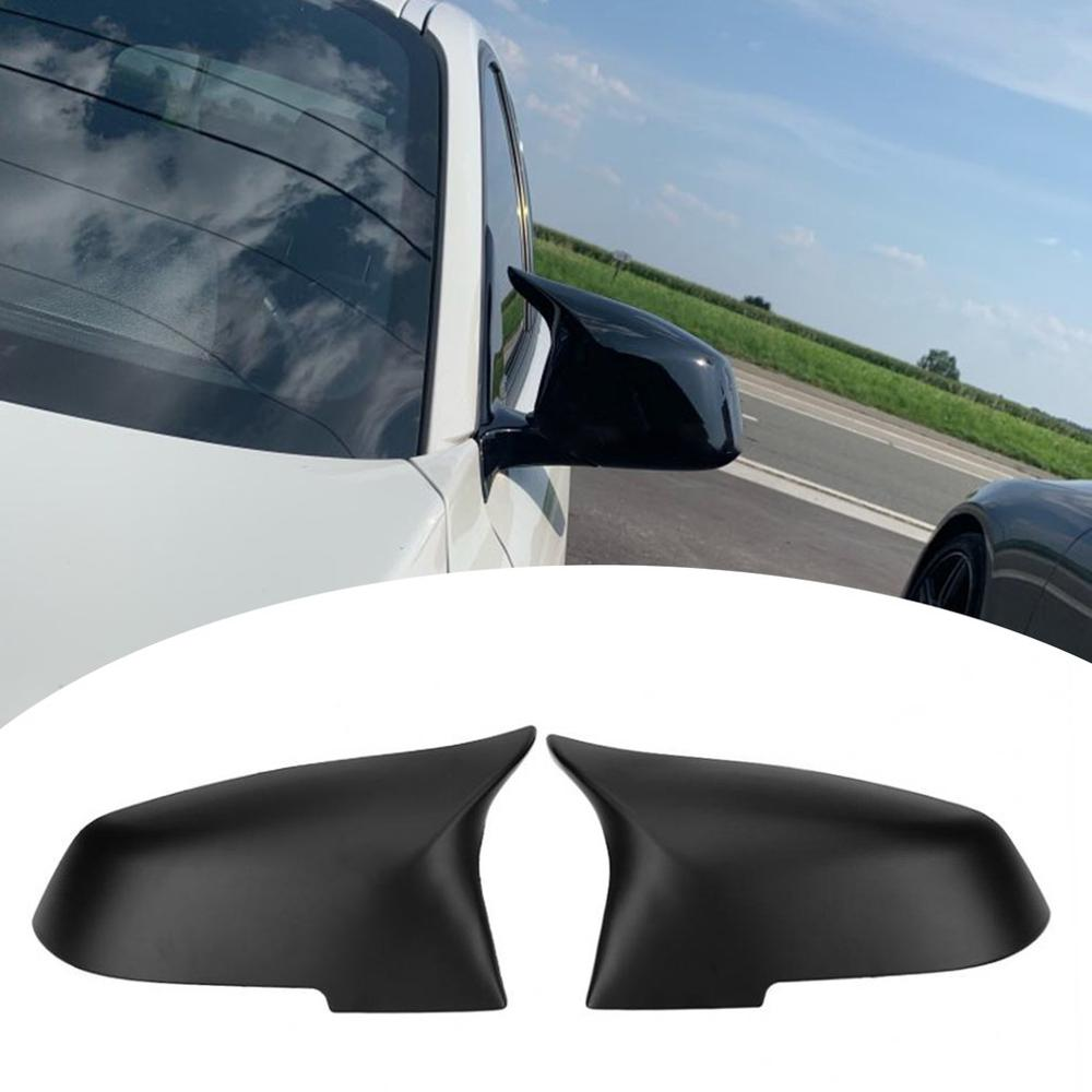 2 uds espejo retrovisor tapa ABS para BMW serie 1, 2, 3, 4 X M 220i 328i 420i F20 F21 F22 F23 F30 F32 F33 F36 X1 F87 E84 X1 M2