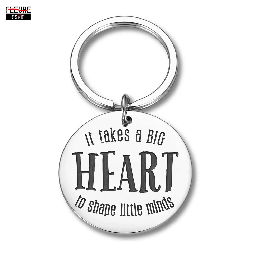 Teachers Day Gifts Keychain for Teachers Coaches Mothers Fathers From Kids Women Men Mom DadBirthday