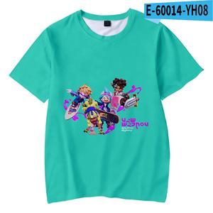Hot Game Ninjala T-shirt Soft Round Collar T shirt Casual Boys Girls Casual 3D printed Fashion New Children's Kpop Tee Shirt