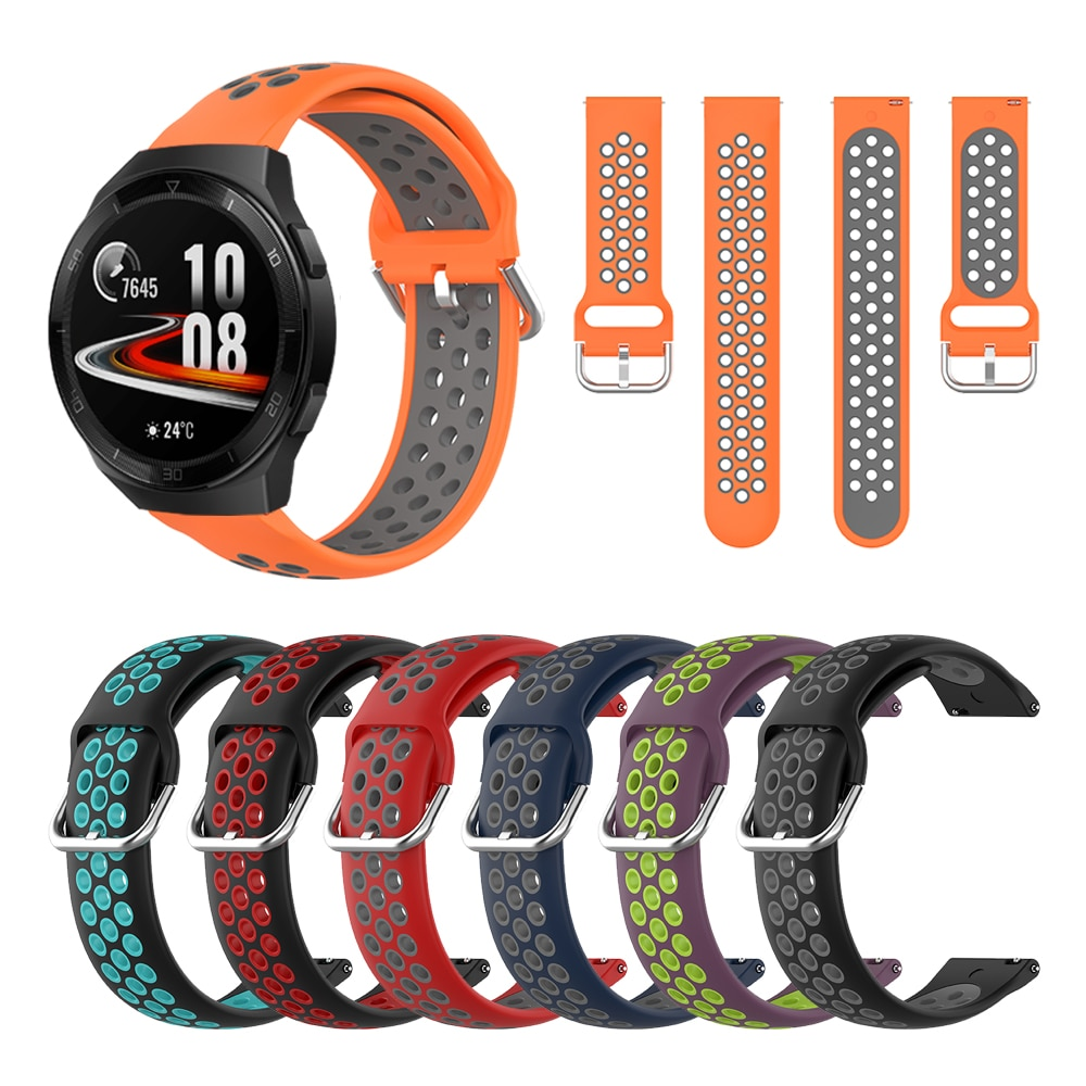 Correa de silicona Original para Huawei Watch Gt 2e colores de éxito correas de reloj 20mm 22mm correa para Huawei Watch GT 2e Gt 2 46mm 42mm Gt1