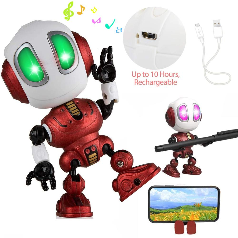 Charging Robots Toys Mini Talking Smart Robot For Kids Educational Toy For Children Humanoid Robot Toy Sense Inductive enlarge