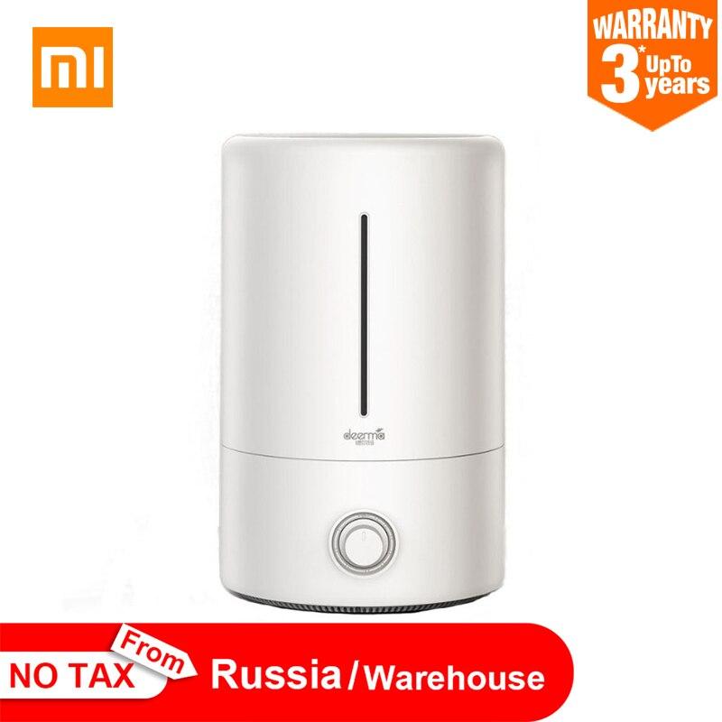 Xiaomi Deerma 5L увлажнитель воздуха бытовой ультразвуковой диффузор увлажнитель ароматерапия Humificador для офиса и дома