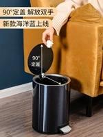 tainless steel waste bin luxury simply creative square toilet waste can bathroom kitchen cubo de basura kitchen supplies di50ljt