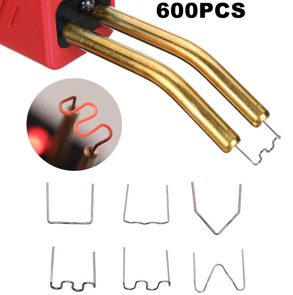 600 шт., насадки для вырезания автомобильных пластиковых бамперов, 0,6 мм и 0,8 мм