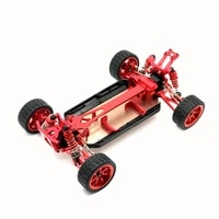 wltoys 112 124017 124019 rc car metal upgrade frame all metal parts assembly modified frame