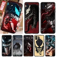marvel evil poison shockproof cover for iphone 5 5s 6 7 8 x xr xs 11 se 12 2020 mini plus pro max tpu black soft cover