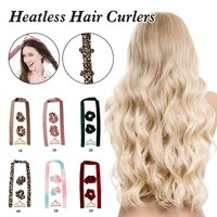 heatless hair curlers soft hair rollers no heat curls headband with hair ties overnight hair curling rod for long hairs