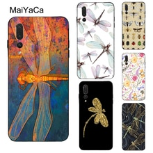 MaiYaCa Dragonfly Insect Pattern Case For Huawei P20 P10 Lite P40 P30 Pro P Smart 2019 Z Mate 10 20