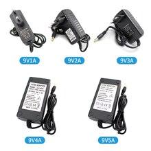 Unviersal 9 V Schalt Netzteil Adapter Ladegerät 1A 2A 3A 4A 5A 9 V Volt Netzteil Fonte AC DC 220V zu 9 V MeanWell SMPS