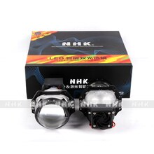 NHK Bi-LED Projector VIP Version 3.0inch LHD Dual light cup low beam 50W high beam 55W 6000K  LED auto headlight car accessories