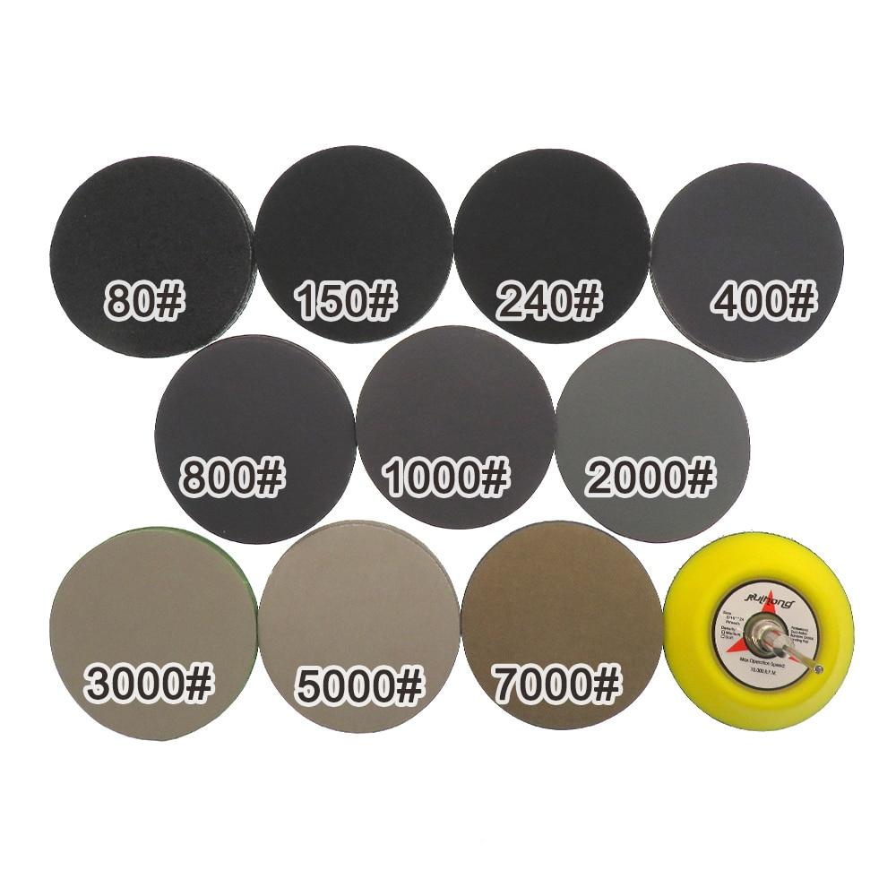 Assortimento di carta vetrata a secco 100 pezzi 80-7000 disco - Utensili abrasivi - Fotografia 6