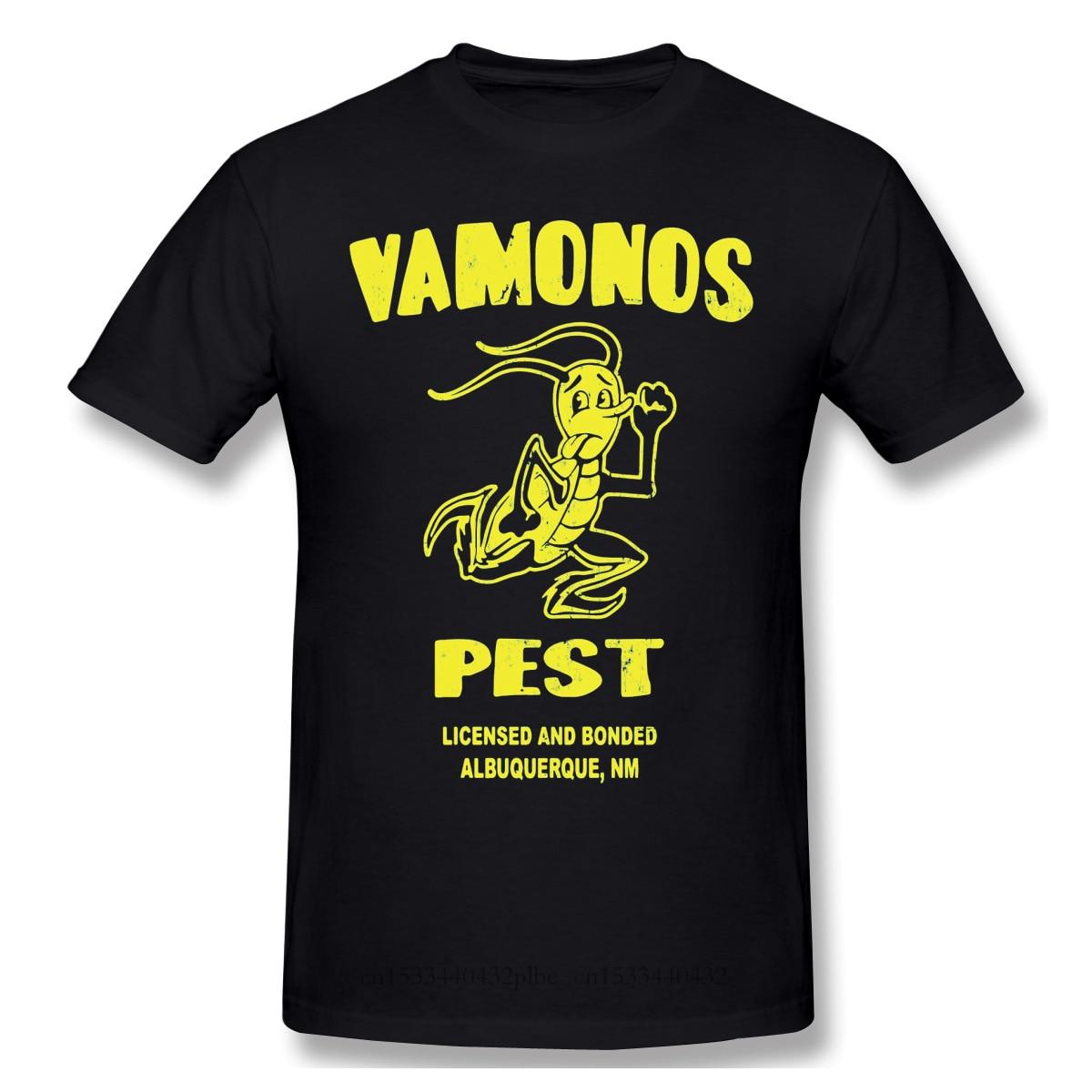 Next S Albuquerque Black T Shirt Better Call Saul James Cromwell Homme T-Shirt Tees Pure Oversized Short Sleeve