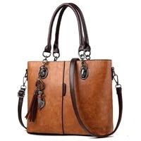 womens handbags pu leather big women bag fashion tassel tote luxury lady hand bags with cat purse shoulder bag sac femme bolso