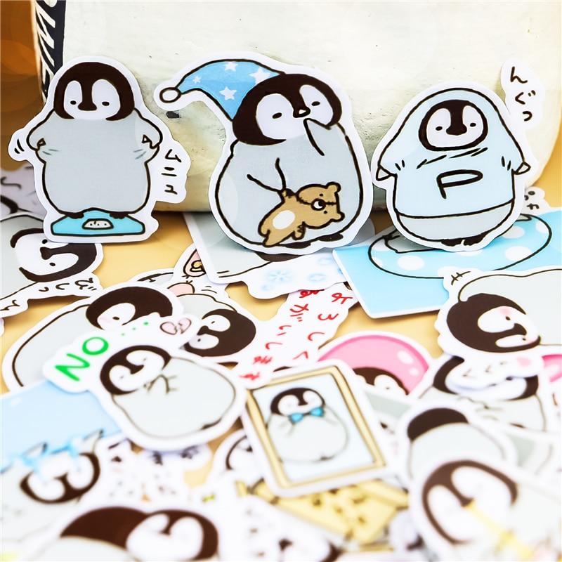 45pcs-creativo-simpatico-animale-self-made-pinguino-scrapbooking-stickers-adesivo-decorativo-fai-da-te-album-di-foto-di-impermeabile