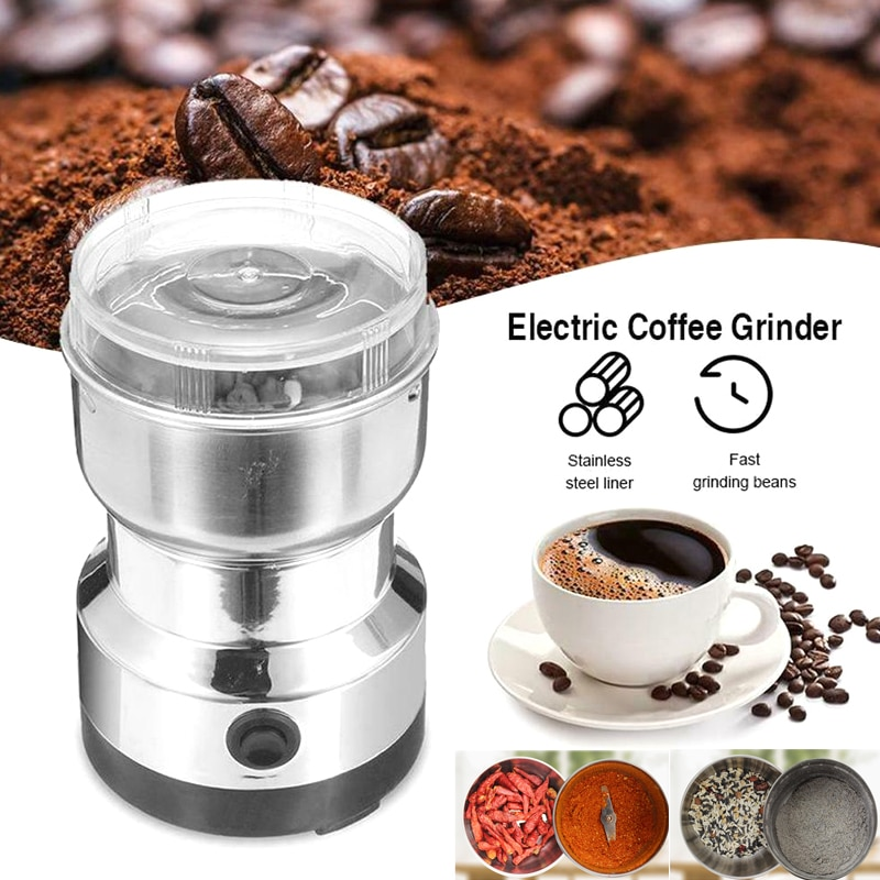مكسرات توابل كهربائية ، مطحنة حبوب القهوة ، قاطع مع الفولاذ المقاوم للصدأ ، للمطبخ المنزلي SEC88