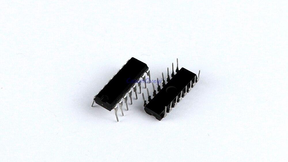10 unids/lote CD4052BE CD4052BCN cd4052 HEF4052 DIP-16 separador de demultiplexor