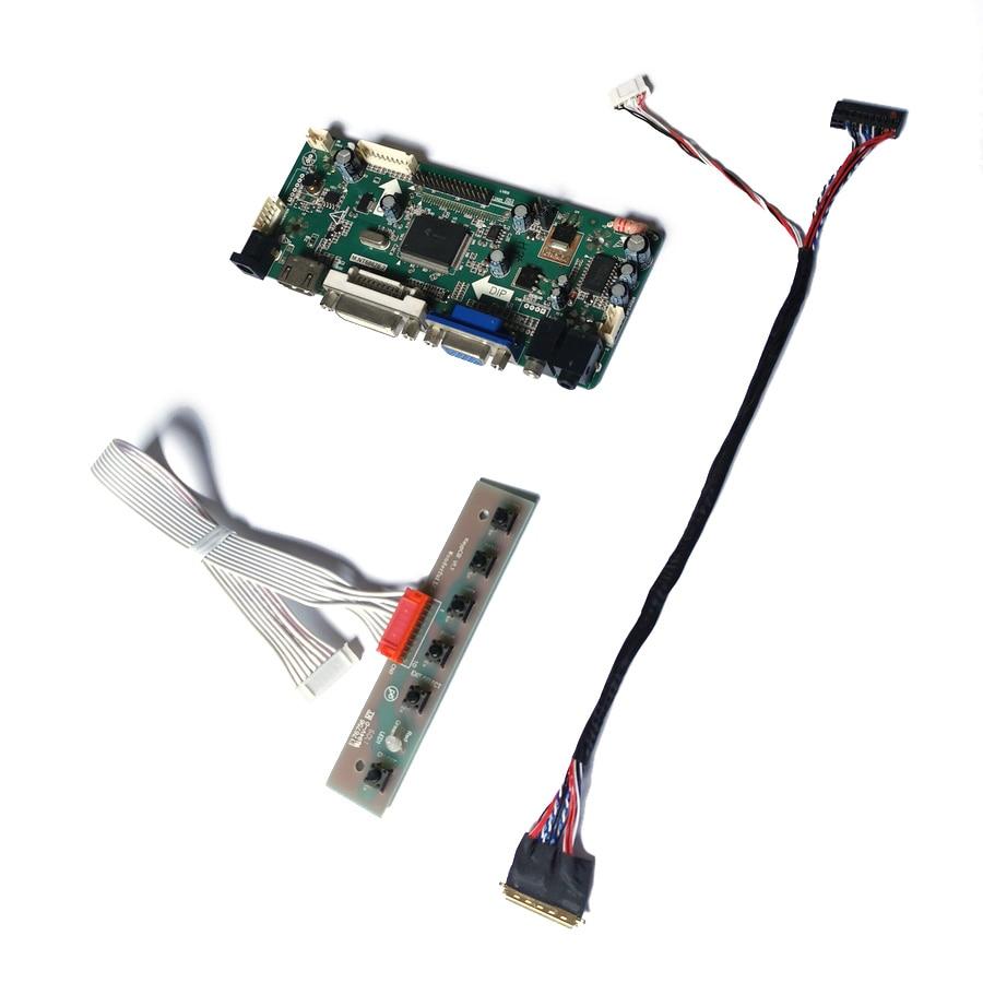 ل B101EW04/BP101WX1 1280*800 LVDS 40 دبوس LED 60Hz VGA + DVI شاشة M.NT68676 شاشة الكريستال السائل تحكم محرك المجلس لتقوم بها بنفسك عدة