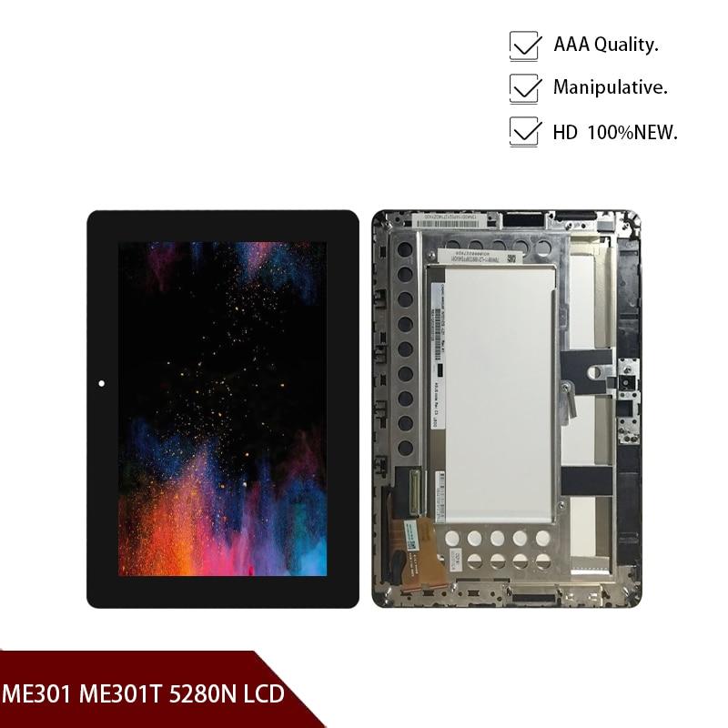 Asus-pantalla LCD Original, montaje de digitalizador con pantalla táctil para Asus, MeMo...