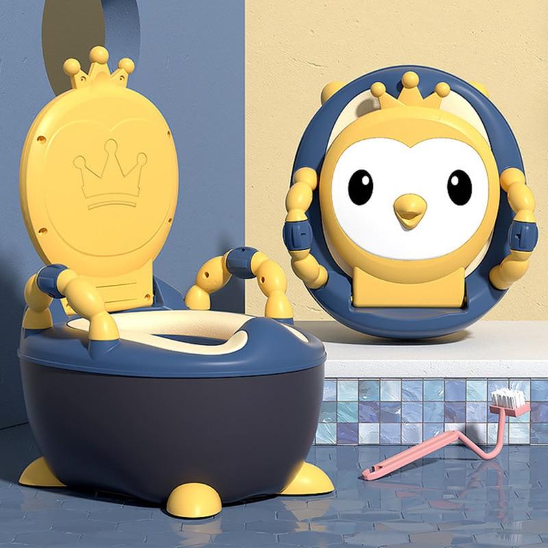 Portable Baby Potty Multifunction Baby Toilet Car Potty Child Pot Training Girls Boy Potty Kids Chair Toilet Seat Children's Pot