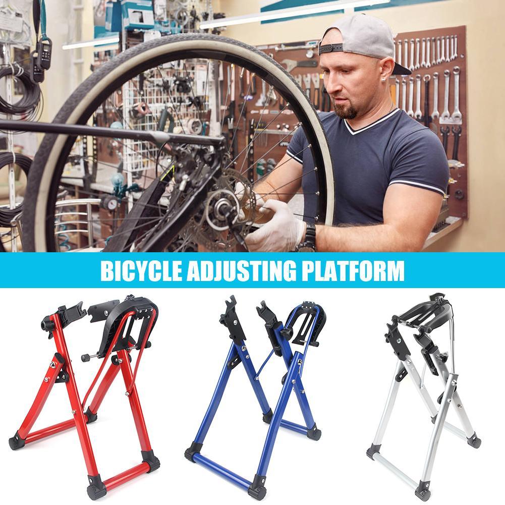 حامل تروينج لعجلات الدراجة الجبلية للدراجات الجبلية مناسب للاستخدام في المنزل حامل تروينج مدعم لأداة إطارات الدراجات الهوائية 24-28 بوصة