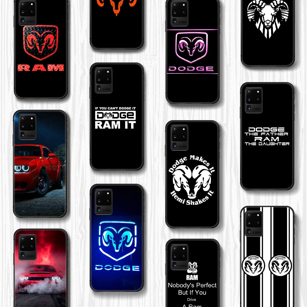 Dodge car logo Phone Case Cover Hull For Samsung Galaxy S 6 7 8 9 10 e 20 edge uitra Note 8 9 10 plu