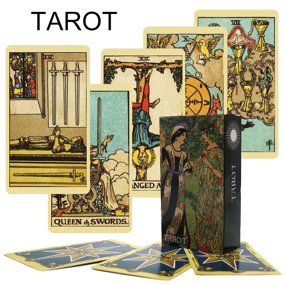 English Version  Mysterious Tarot Card The Best-selling Tarot Card Family Party Board Game Predicts The Future 2022 Tarot  Deck astronaut the crew board game for the quest for planet nine english version poker card game