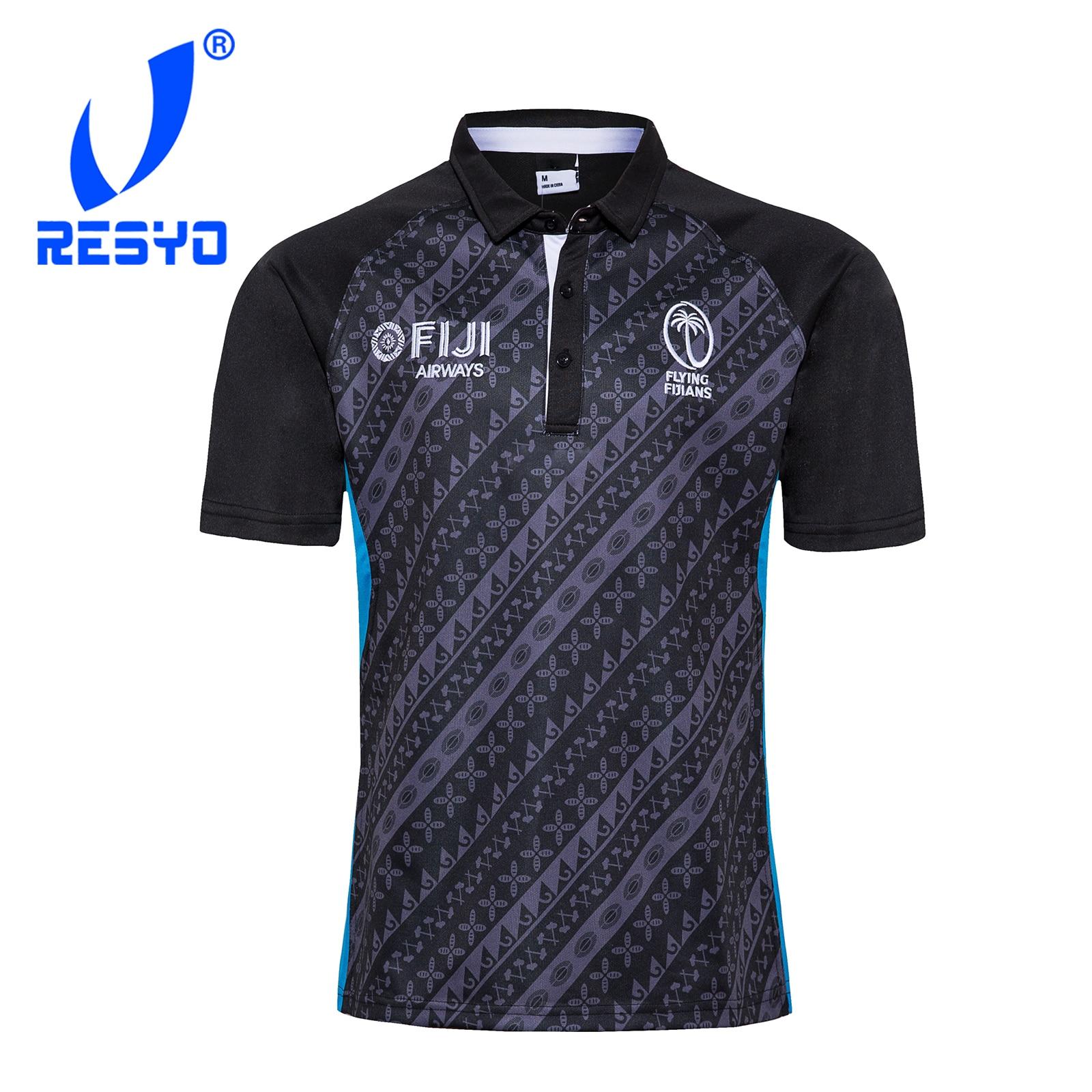 RESYO FÜR 2020 FIDSCHI Souvenir Edition MÄNNER Rugby Jersey Sport Hemd S-3XL