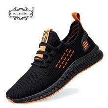 Nova marca de exposição dos homens moda tênis malha respirável confortável calçados leves sapatos caminhada casuais zapatillas hombre