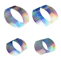 pvc 10121418 inches fashion durable high quality portable wheel rim tape for motorcycle car reflective stripes
