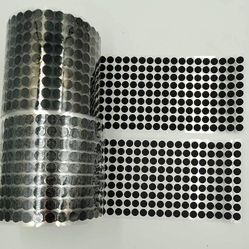 10-30mm Self Adhesive Fastener Tape Velcros Hook Loop Tape Disc Coin DIY handmade Black White Strong Glue Sticker