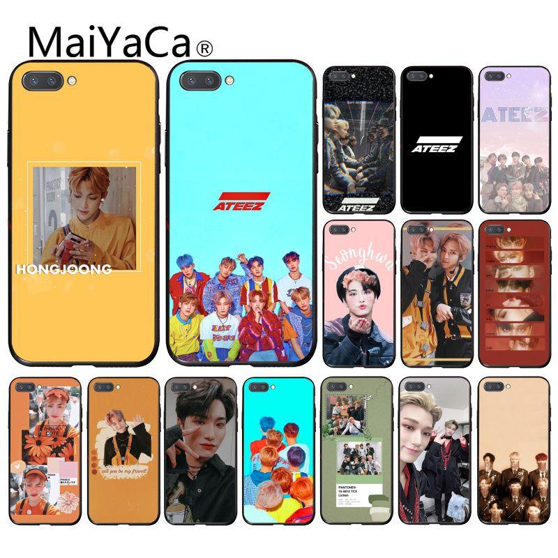 Maiyaca ATEEZ HongJoong SeongHWA funda del teléfono para Huawei Honor 8X 9 10 20 Lite Honor 7A 7C Honor10i 9X jugar 8C