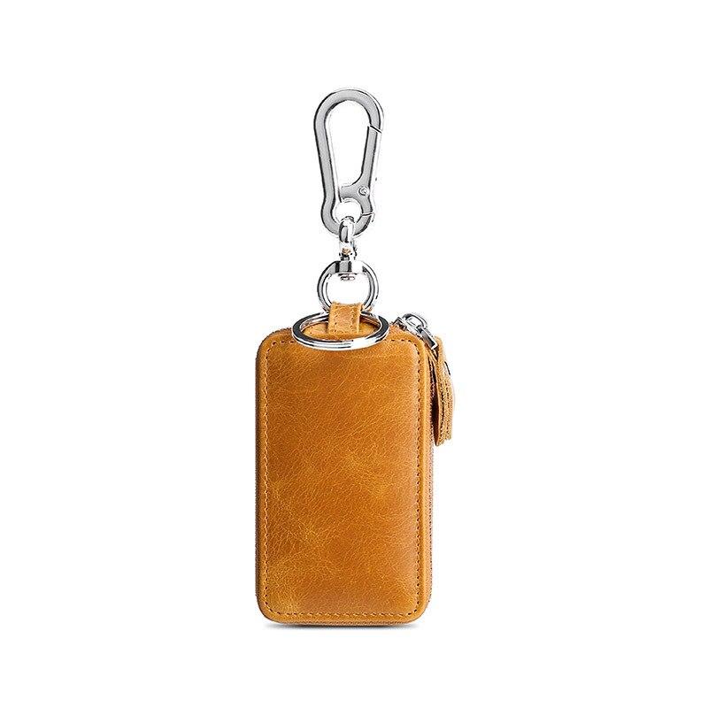 Llavero de Cuero Para Hombre, Llavero tipo bolsa, Porta llaves