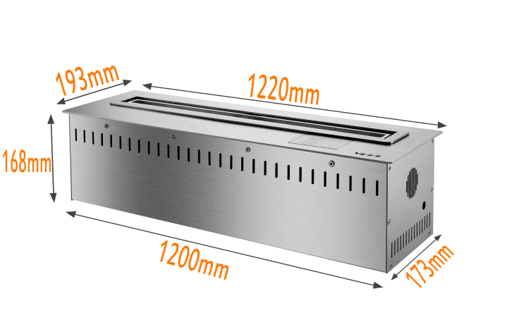 Inno-Fire-wifi ذكي لتزيين المنزل ، 48 بوصة ، كهربائي