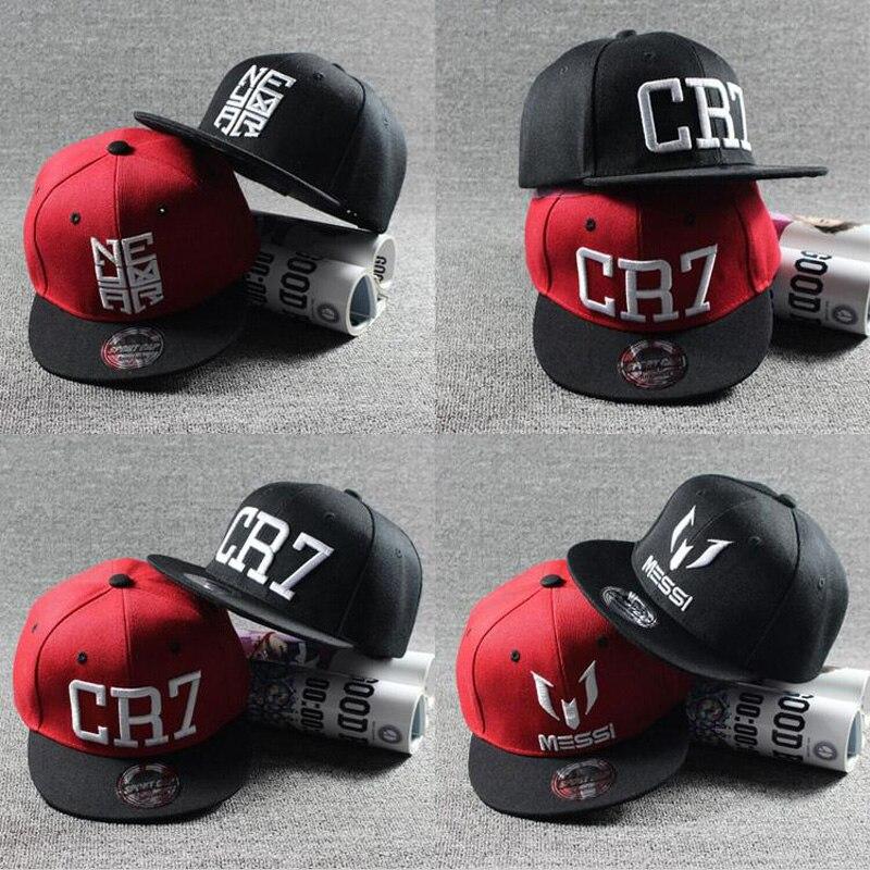 Модная детская бейсболка Ronaldo CR7 Neymar NJR, кепка для мальчиков и девочек, Snapback, Кепка в стиле хип-хоп, новинка 2020
