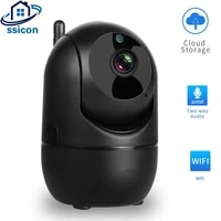 smart mini ip camera hd 1080p cloud wireless indoor automatic tracking infrared surveillance security cameras with wifi