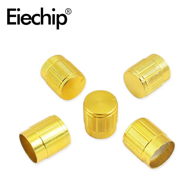 10pcs/Lot 15X17mm potentiometer knobs cap 6mm Shaft Hole high quality Alloy knob for WH148 potentiometer encoder audio switch potentiometer encoder knob high quality aluminum alloy knobs 15x16 5mm half shaft 6mm d type switch cap for 360 degrees module