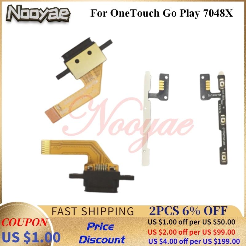 Para Alcatel OneTouch Go Play 7048X OT7048 Puerto cargador USB enchufe Dock...