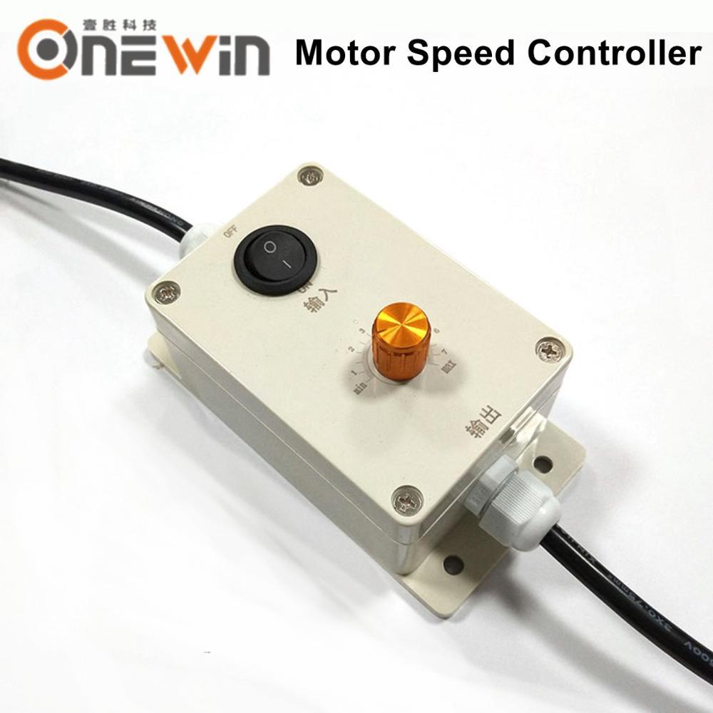 Controle do regulador do controlador 1ph da velocidade 220 v do motor da vibração