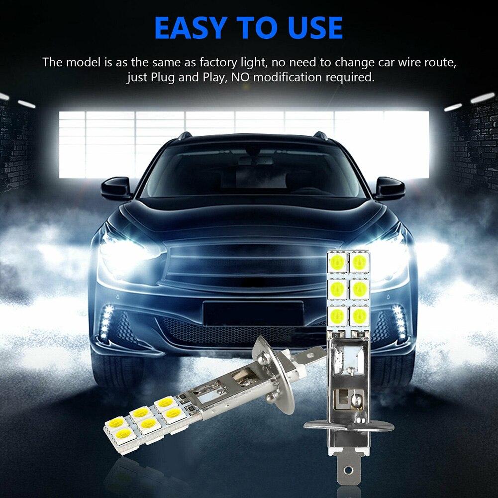 1800lm nevoeiro driving light lâmpada acessórios peças universal 4x DC12V-24V