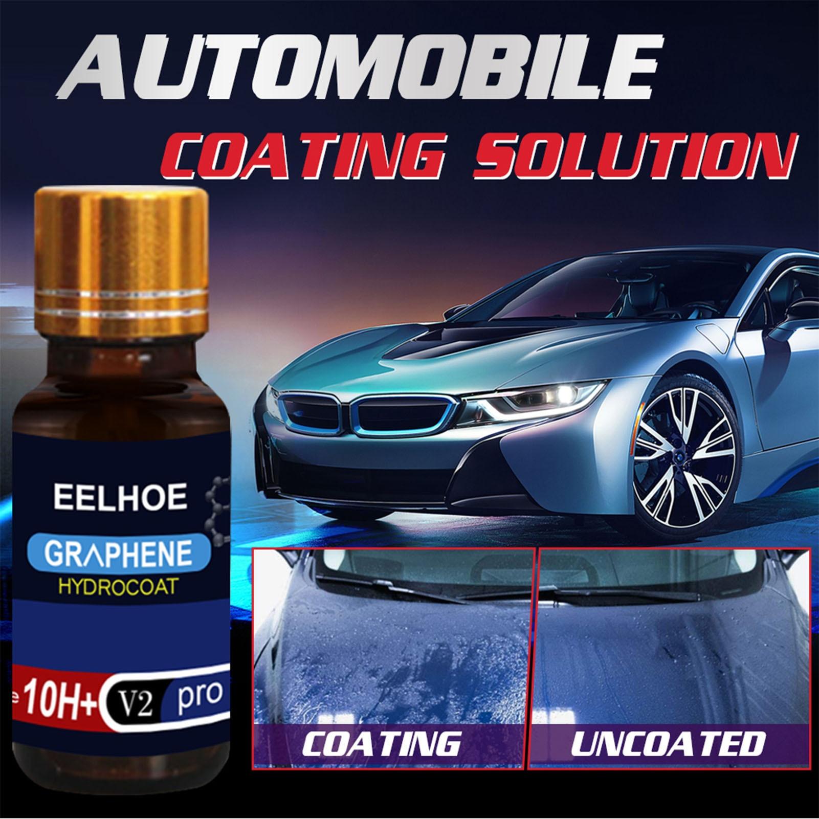 Графеновое покрытие для автомобиля, 30/50 мл, 12H нано-керамика, гидрофобное покрытие для автомобиля, покрытие от царапин, графеновое покрытие, ...