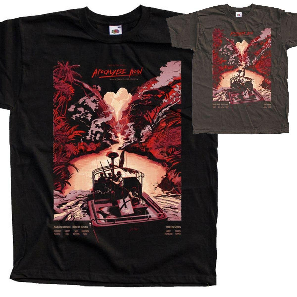 Camiseta Apocalypse Now movie poste todos los tamaños S a 5XL v23 recién llegado corto para hombre