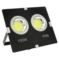 4PCS LED מבול אור 100W 150W 200W מקרן רפלקטור עמיד למים 220V Led COB הארה ספוט אור חיצוני מקצועי מנורה